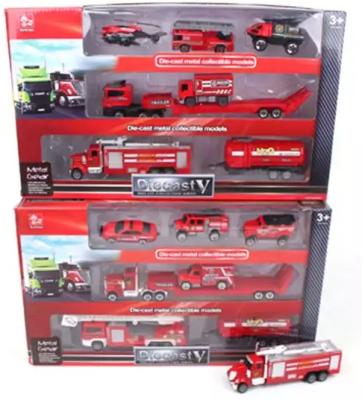 Игровой набор Наша Игрушка Пожарная служба 7 предметов набор машинок siku пожарная служба 1818rus