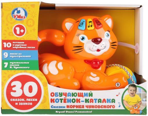 Купить Обучающий котенок-каталка Умка 7 сказок К.Чуковского, 19 потешек и любимых песенок в кор.2*18шт, Книги для малышей