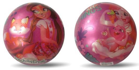 Купить Мяч ИГРАЕМ ВМЕСТЕ Enchantimals разноцветный ПВХ, для девочки, Мячи и животные прыгуны