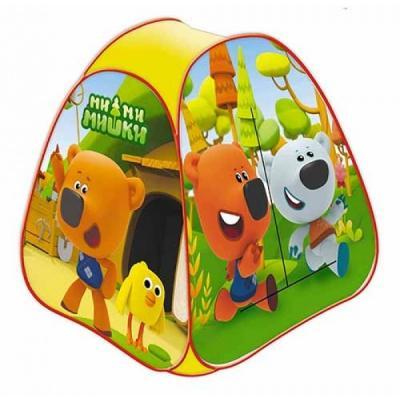 Палатка детская игровая МИМИМИШКИ 81х90х81см, в сумке, Играем вместе в кор.24шт цена