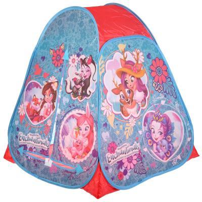 Палатка детская игровая ENCHANTIMALS 81х90х81см, в сумке Играем вместе в кор.24шт цена