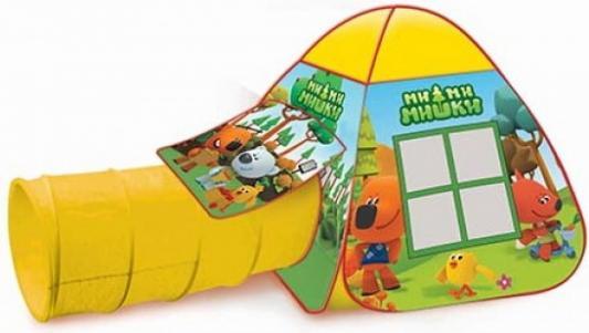 Палатка Играем Вместе Ми-Ми-Мишки играем с карточками играем с ми ми мишками