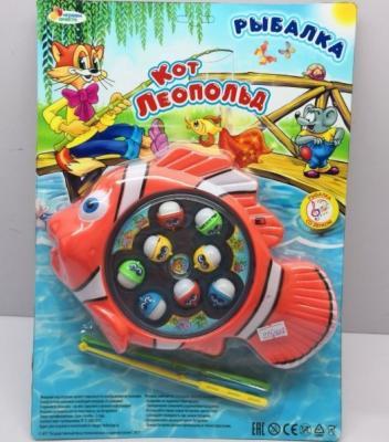 Купить Интерактивная игрушка ИГРАЕМ ВМЕСТЕ «Рыбалка. Кот Леопольд» от 3 лет, Интерактивные игрушки