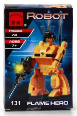 Конструктор ENLIGHTEN BRICK Робот 73 элемента конструктор enlighten brick trebuchet sqrad 152 элемента brick2304