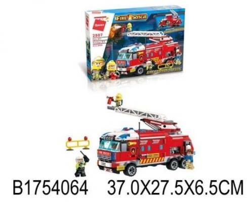 Конструктор ENLIGHTEN BRICK Пожарная машина 523 элемента конструктор enlighten brick trebuchet sqrad 152 элемента brick2304