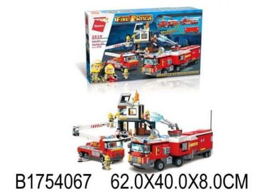 Конструктор ENLIGHTEN BRICK Пожарные службы 996 элементов цены онлайн