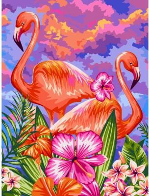 Рисование по номерам Фабрика творчества Яркие фламинго quot фабрика дана мебель нахабино quot