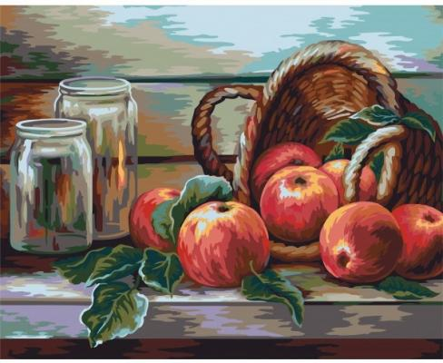 Рисование по номерам Фабрика творчества Натюрморт с яблоками. Жанна Когай quot фабрика дана мебель нахабино quot