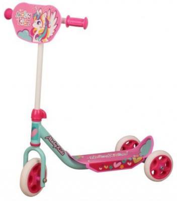 Самокат Moby Kids Мечта 150/120 мм розовый беговел самокат moby kids moby kids 2 в 1 розовый 641159