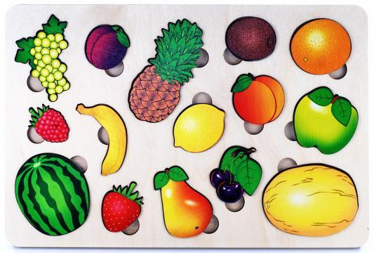 Фото - Рамка-вкладыш Нескучные игры Фрукты рамка вкладыш нескучные игры фрукты