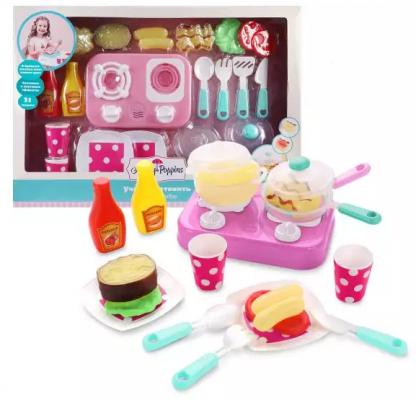 Купить Кухонный набор Mary Poppins Учимся готовить 23 предмета, для девочки, Игровые наборы Маленькая хозяйка