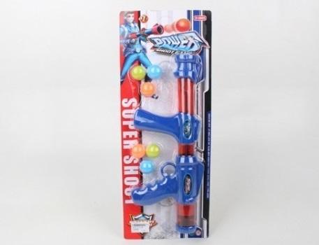 Купить Оружие Shantou синий красный, красный, синий, размер упаковки490x190x50 мм, для мальчика, Игрушечное оружие