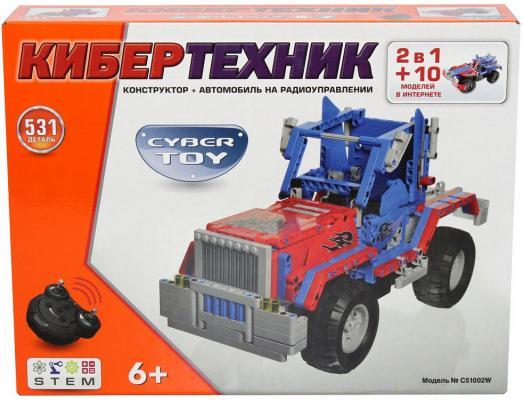 Конструктор CYBER TOY CyberTechnic 2 в 1 531 элемент C51002W 1 toy т53140