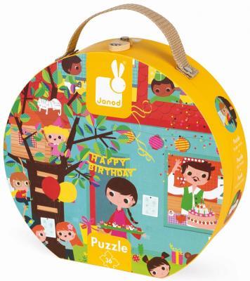Купить Пазл Janod День Рождения 36 элементов J02764, Пазлы для малышей