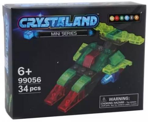 Конструктор Crystaland Космический корабль 34 элемента конструктор shantou космический корабль 102 элемента