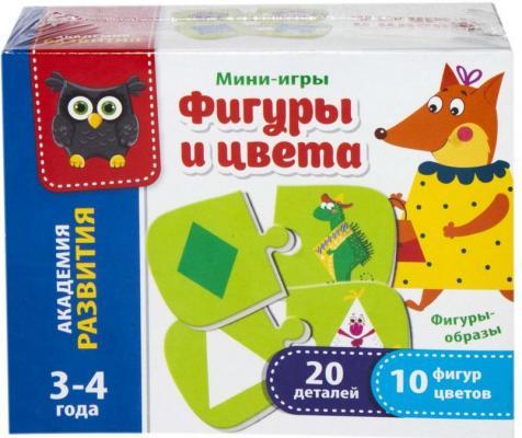 Настольная игра Vladi toys развивающая Формы и цвета VT5111-04