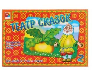 Купить Настольная игра Радуга Театр сказок-2 13 предметов, унисекс