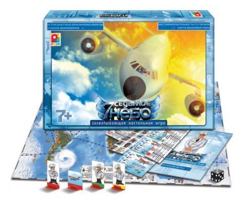Настольная игра Радуга Седьмое небо С-709 матрасы седьмое небо матрас седьмое небо принц классик 140х70х10 см