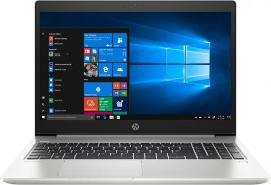 """Ноутбук HP ProBook 450 G6 15.6"""" 1920x1080 Intel Core i7-8565U 256 Gb 8Gb Intel UHD Graphics 620 серебристый Windows 10 Professional 5TK28EA цена и фото"""