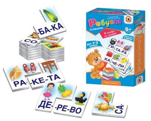 Настольная игра Русский Стиль обучающая Я читаю по слогам! 2043 настольная игра русский стиль обучающая мой дом 03992