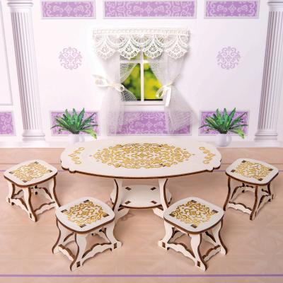 Фото - Игровой набор Одним прекрасным утром Столовая комната - коллекция Барокко 59788 яигрушка набор мебели одним прекрасным утром два стула коллекция барокко
