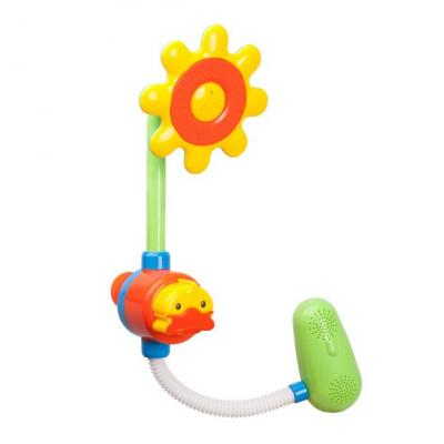 Интерактивная игрушка Жирафики Цветок от 9 месяцев 939583 интерактивная игрушка жирафики каруселька для купания от 18 месяцев разноцветный 681124
