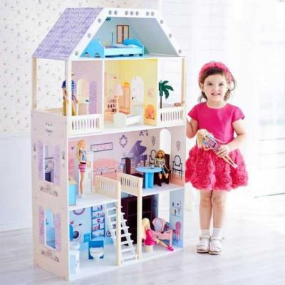 Кукольный домик Поместье Риверсайд, для кукол до 30 см (16 предметов мебели и интерьера) кукольный домик paremo летний дворец барби