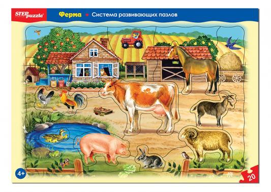Пазл Степ Ферма 20 элементов 80454