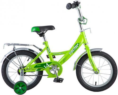Велосипед NOVATRACK Vector 14 зеленый 143VECTOR.GN8 велосипед novatrack juster 16 оранжевый