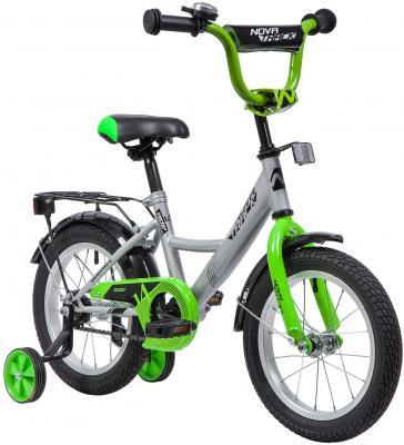 Велосипед NOVATRACK Vector 14 серебристый 143VECTOR.SL9 велосипед novatrack juster 16 оранжевый