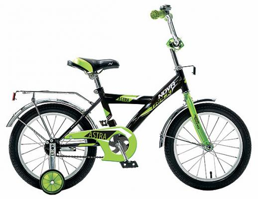 Велосипед NOVATRACK ASTRA 20 черный