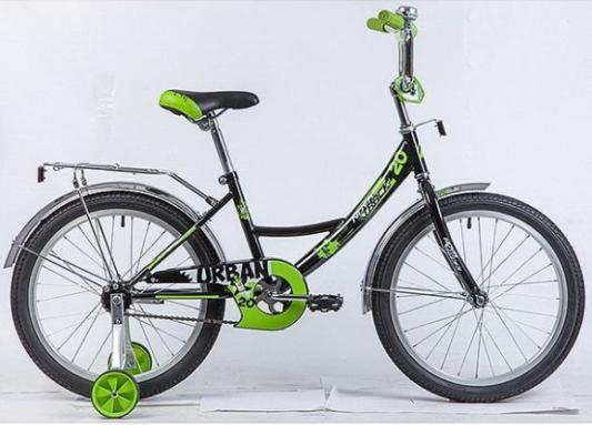 """Велосипед Novatrack URBAN 20"""" черный цена"""