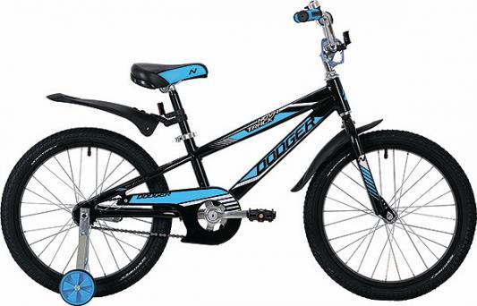Велосипед Novatrack Dodger 20 черный велосипед детский novatrack action цвет белый оранжевый черный 20