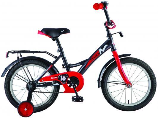 Велосипед Novatrack Strike 18 черно-красный 183STRIKE.BKR8 велосипед детский novatrack urban цвет красный 18