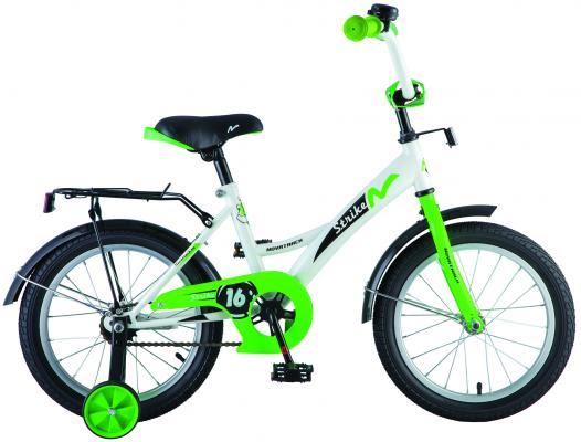 "Велосипед Novatrack Strike 18"", бело-зеленый 183STRIKE.WTG8"