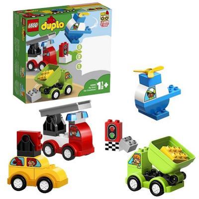 Конструктор LEGO Мои первые машинки 34 элемента 10886