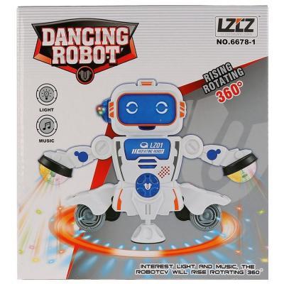 Фото - Интерактивный робот Робот танцующий светящийся со звуком 1807B074 интерактивный робот наша игрушка танцующий 23 см со звуком светящийся 0522a