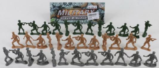 Купить Набор фигурок Shantou Солдатики 4.5 см B1579289, Детские фигурки
