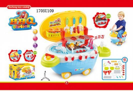 Игровой набор Shantou Кухня-каталка (свет, звук) 1705U409