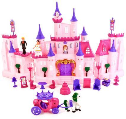 Замок для куклы Shantou My Dreams с мебелью, фигурками и аксессуарами (свет, звук) B958769 джидит лефебер judith lefeber in my dreams