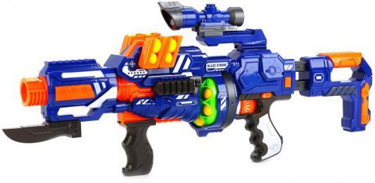 Купить Автомат Shantou ZC7089 Blaze Storm Штурмовая винтовка B1603231, разноцветный, 12x53х33см, для мальчика, Игрушечное оружие