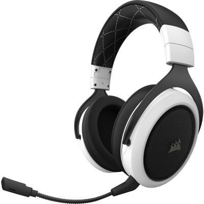 Игровая гарнитура беспроводная Corsair HS70 белый CA-9011177-EU игровая гарнитура проводная corsair gaming hs50 черный ca 9011170 eu
