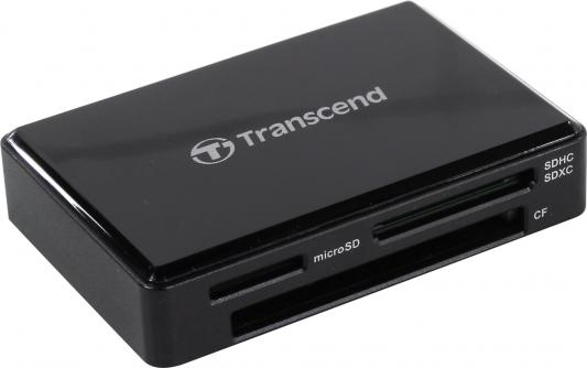 Transcend Black, All-in-One cardreader , USB 3.1 Gen 1 TS-RDC8K2
