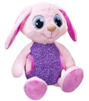 цена на Мягкая игрушка Сонный зайка Фэнси Сонный зайка искусственный мех трикотаж фиолетовый розовый