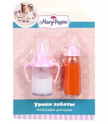 Набор аксессуаров для кукол Mary Poppins Уроки заботы набор аксессуаров mary poppins уроки заботы 6 пр