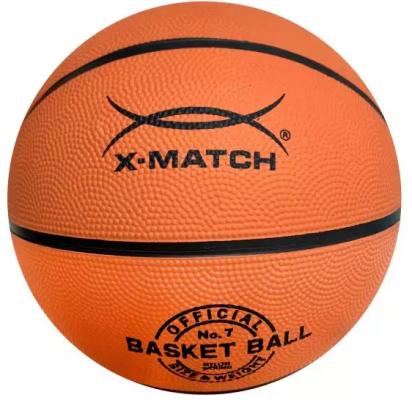 Мяч баскетбольный X-Match Мяч баскетбольный цена