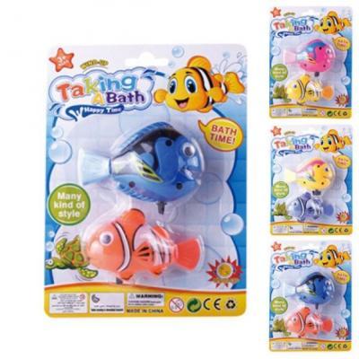 Заводная игрушка для ванны Наша Игрушка Рыбки водоплавающие