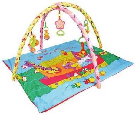 Купить Коврик детский Команда, 95*100*56 см, дуги, игрушки, кор., Наша Игрушка, Развивающие коврики и дуги