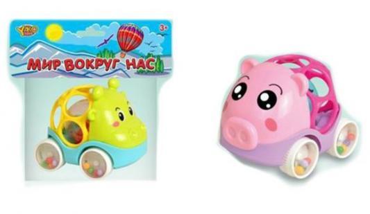 Купить Погремушка Наша Игрушка Животные, цвет в ассортименте, унисекс, Погремушки и прорезыватели