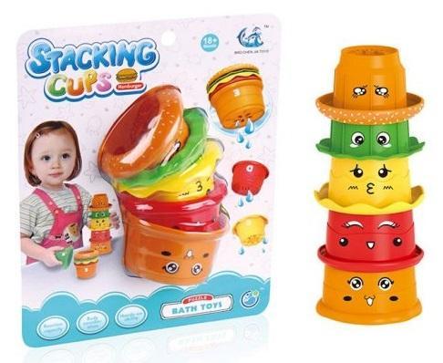 Купить Пирамида Наша Игрушка Пирамидка-чашечки 5 элементов, пластик, Пирамидки для малышей